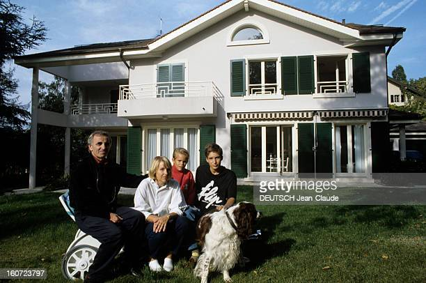 charles aznavour ulla thorsell stockfoto 39 s en beelden getty images. Black Bedroom Furniture Sets. Home Design Ideas