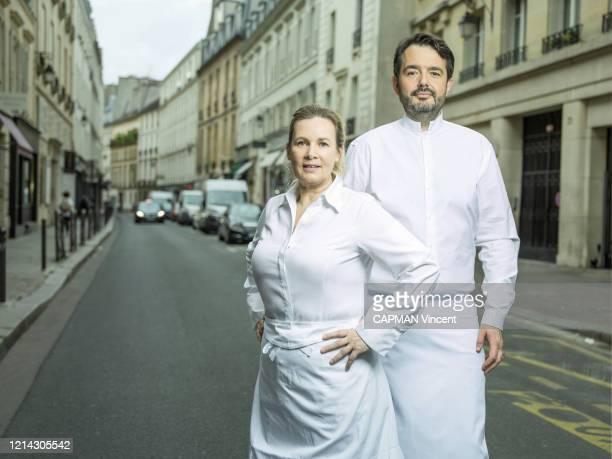 Rendez-vous with chefs Helene Darroze and Jean-François Piege in Paris on Mai 09, 2020.