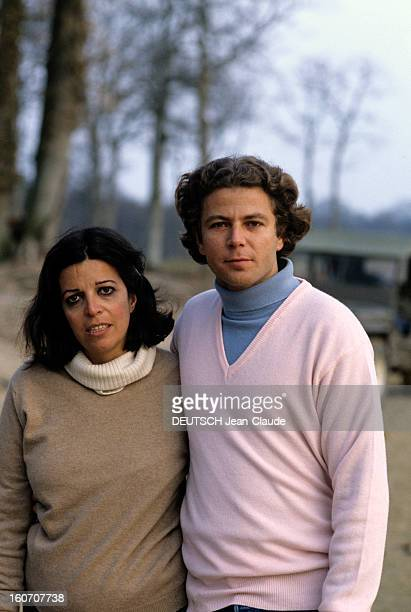 Rendezvous With Christina Onassis And Thierry Roussel Before Marriage Bonneville mars 1984 Portrait de Christina ONASSIS et Thierry ROUSSEL avant...