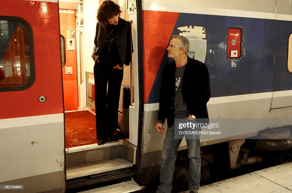 Rendezvous With Christophe Lambert And Sophie Marceau : News Photo