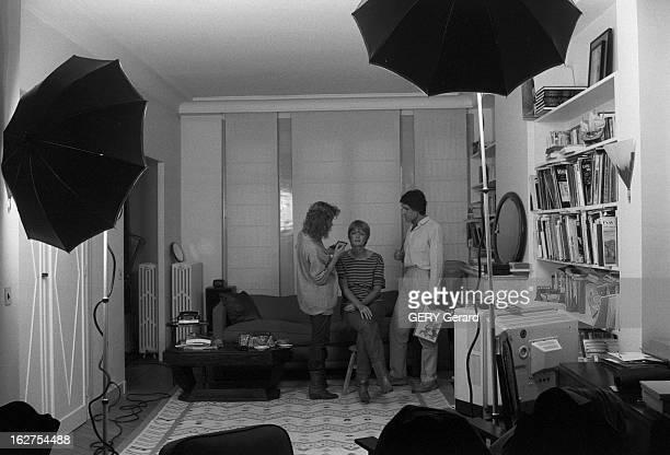 Rendezvous With Claire Bretecher France 28 juin 1980 On retrouve la dessinatrice et scénariste de bandes dessinées Claire BRETECHER chez elle lors...