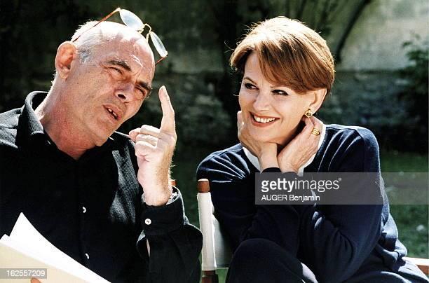 Rendezvous With Claudia Cardinale And Companion Pasquale Squitieri In Paris Claudia CARDINALE chez elle à PARIS avec son compagnon Pasquale SQUITIERI...