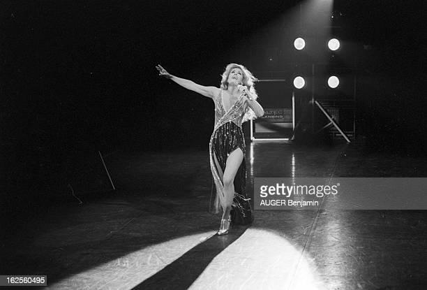 Rendezvous With Dalida Performing In Paris At The Palais Des Sports Paris du 5 au 20 janvier 1980 DALIDA fait un show à l'américaine au Palais des...