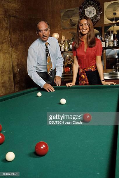 Rendezvous With Eddie Barclay And His 4th Wife Beatrice France 1970 A l'occasion de son quatrième mariage avec Béatrice Eddie BARCLAY cravate...