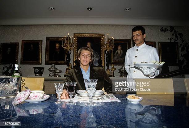 Rendezvous With Emmanuelphilibert Prince Of Venice And Piedmont Suisse Genève 8 Octobre 1990 Dans la résidence de ses parents Vittorio Emanuele DI...
