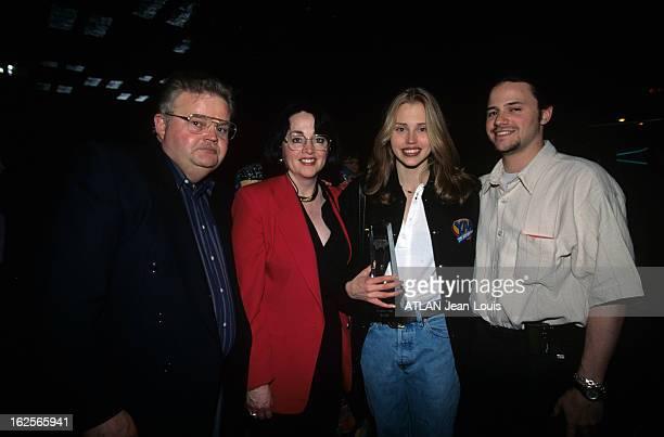 Rendezvous With Estella Warren In Toronto Toronto 27 avril 1996 A l'occasion des préparatifs des Jeux Olympique d'été à Atlanta portrait d'Estelle...