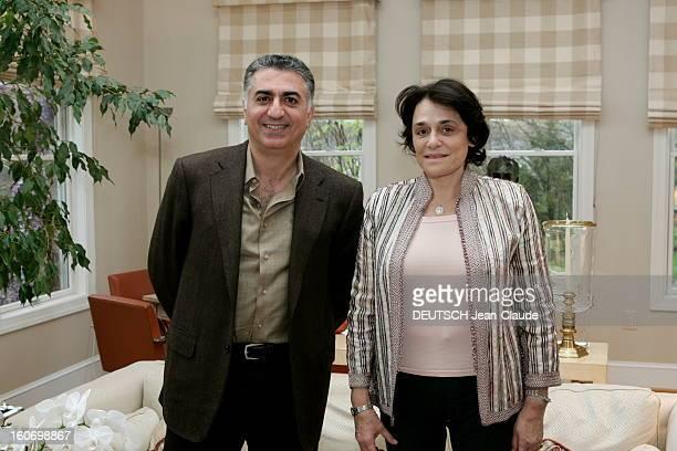 Rendezvous With Farah Diba And Reza Pahlavi In United States La famille impériale d'Iran en exil aux EtatsUnis Le prince héritier Reza II PAHLAVI...