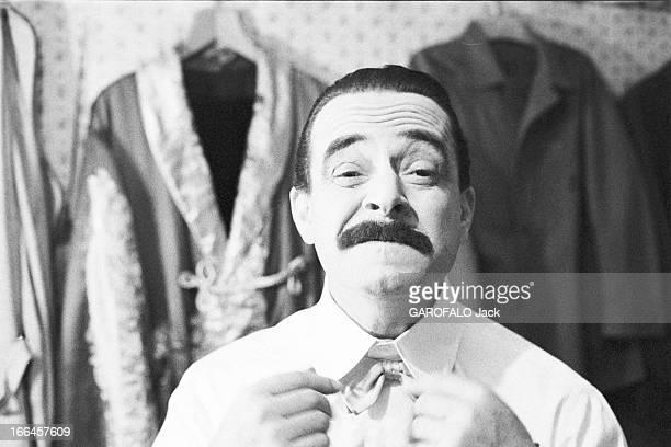Rendezvous With Federico Fellini And Gulietta Masina. Italie, 5 décembre 1957, l'actrice italienne Giulietta Masina et le réalisateur de cinéma et...