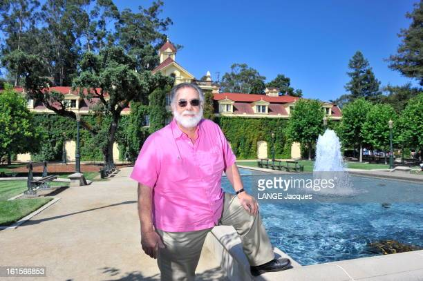 Rendezvous With Francis Ford Coppola In His Inglenook Property In The Napa Valley Rutherford 15 juillet 2011 Francis Ford COPPOLA posant au bord de...
