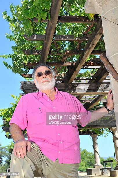 Rendezvous With Francis Ford Coppola In His Inglenook Property In The Napa Valley Rutherford 15 juillet 2011 plan de face de Francis Ford COPPOLA Le...