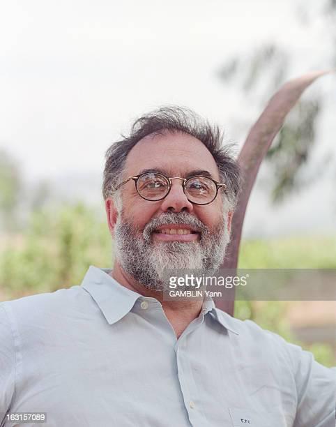 Rendezvous With Francis Ford Coppola In The Vineyard Of The Napa Valley En Californie en juin 1995 portrait du réalisateur Francis Ford COPPOLA dans...
