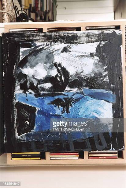 Rendezvous With Fred Vargas At Home In Paris The home of the novelist Fred Vargas exhibited in the show a picture representing Dashiell Hammett the...
