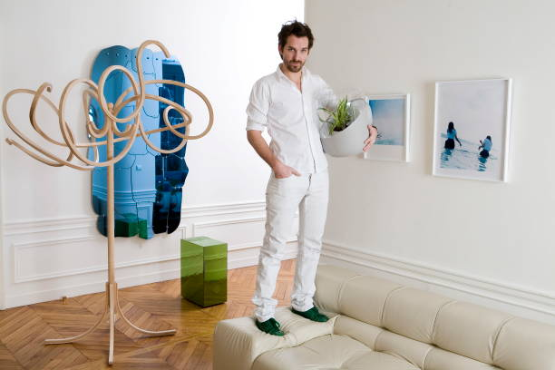 Rendezvous with french designer mathieu lehanneur at home in paris