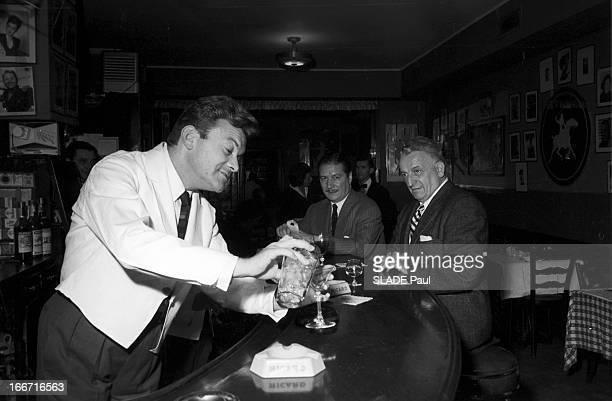 Rendezvous With George Ulmer In New York EtatsUnis NewYork 8 juin 1957 Georges ULMER est un auteurcompositeurinterprète et acteur français d'origine...