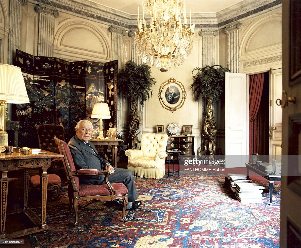 Athome De rendezvous with de rothschild at home pictures getty images