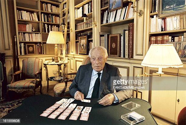 Rendezvous With Guy De Rothschild At Home Guy de Rothschild in his mansion the Hotel Lambert on the Ile SaintLouis in Paris June 2002