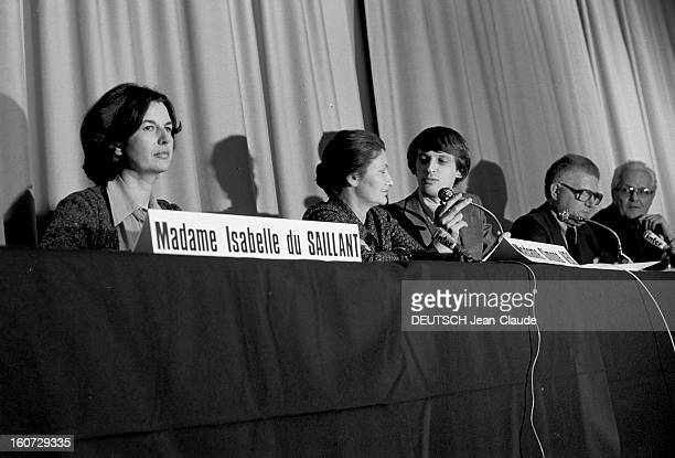 Rendezvous With Isabelle De Lasteyrie Du Saillant Sister Of President Valery Giscard D'estaing France 15 janvier 1978 Madame Isabelle DE LASTEYRIE DU...