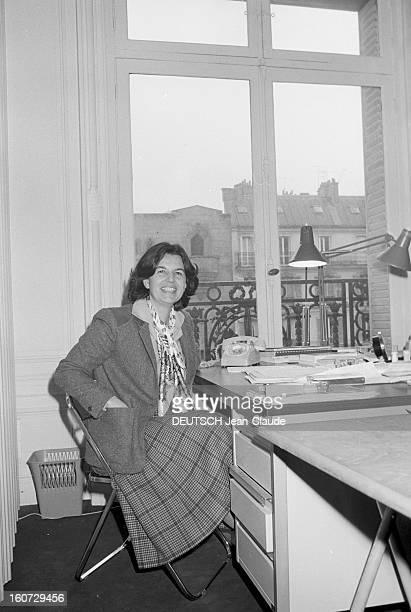 Rendezvous With Isabelle De Lasteyrie Du Saillant Sister Of President Valery Giscard D'estaing Garches 15 janvier 1978 Madame Isabelle DE LASTEYRIE...