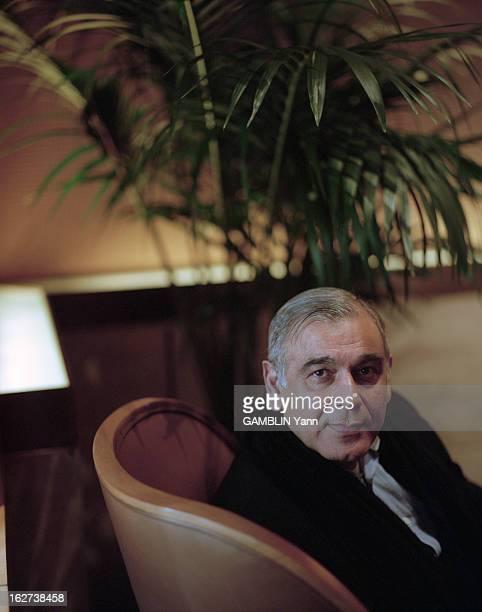 Rendezvous With Ismail Merchant EtatsUnis 23 février 2000 le producteur et réalisateur indien Ismail MERCHANT à l'occasion de la sortie de son film...