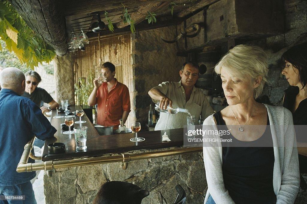 Rendezvous With Jacques Dutronc With Family In Corsica Francoise Hardy Et Jacques Dutronc Avec Leur