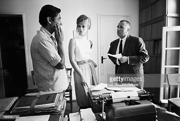 Rendezvous With Jane Fonda At Home In Fontaine Richard En septembre 1964 l'actrice Jane FONDA vient d'acheter pour 9 millions d'anciens francs une...