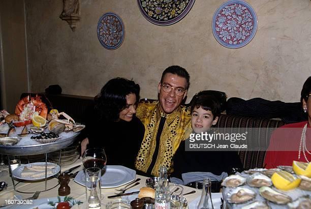 Rendezvous With Jean Claude Van Damme A Bruxelles en intérieur JeanClaude VAN DAMME en compagnie de son exépouse Gladys et de son fils Christopher