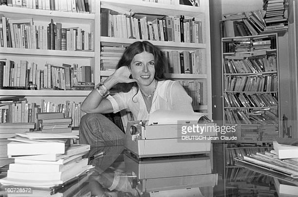 Rendezvous With Jeanpierre Elkabbach And His Wife Nicole Avril Paris 23 Septembre 1977 Nicole AVRIL écrivain française épouse de JeanPierre ELKABBACH...