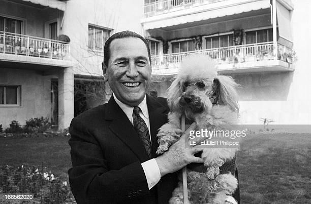 Rendezvous With Juan Peron And His Wife Isabel In Spain Madrid 23 mars 1962 Lors de son exil en Espagne portrait de Juan PERON dans un jardin au bas...
