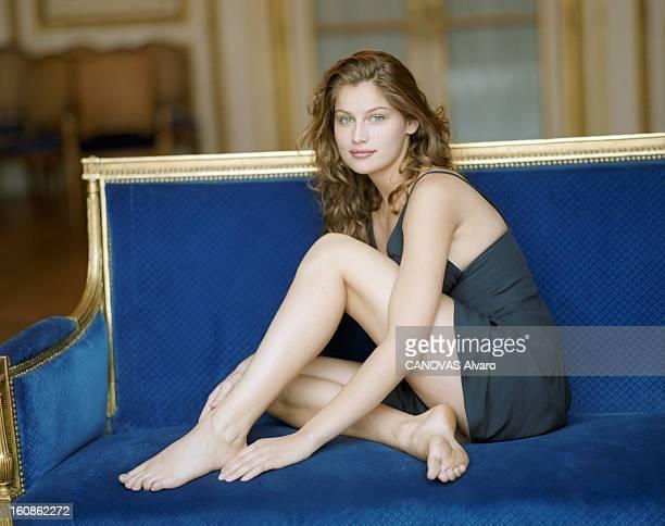 Rendezvous With Laetitia Casta En France le 25 mai 1996 Rendezvous en famille avec la mannequin d'origine corse Laetitia CASTA 18 ans Dans une...
