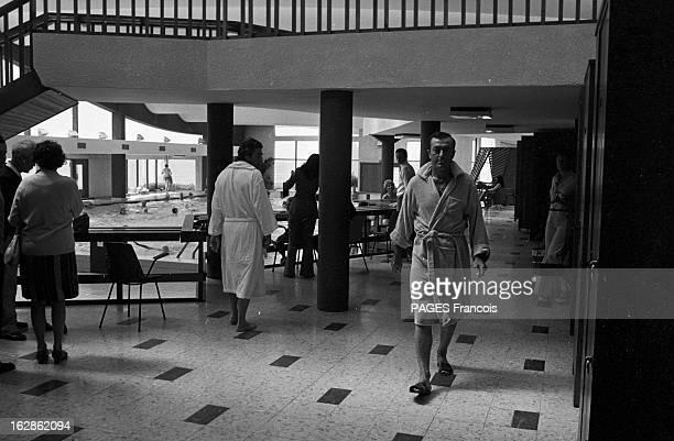 Rendezvous With Louison Bobet Ceo Of A Thalassotherapy Center France Quiberon 25 juillet 1973 Louison BOBET ancien coureur cycliste profite de l'air...