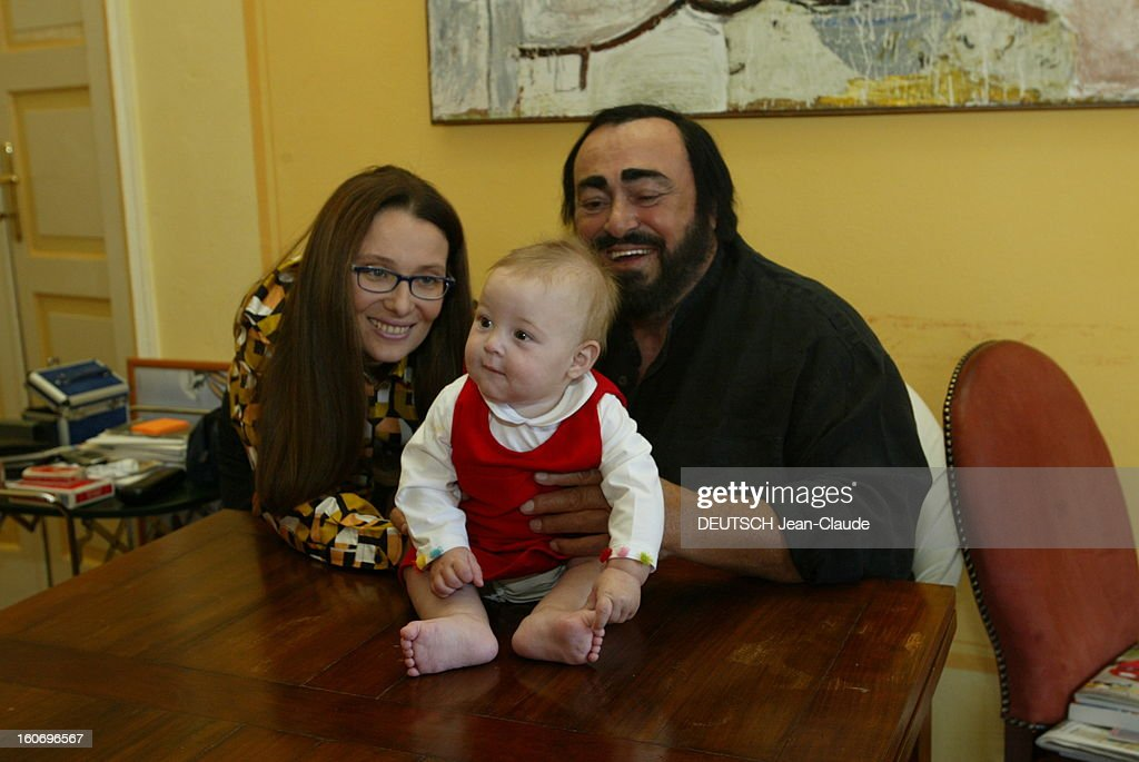Rendezvous With Luciano Pavarotti At Home In Italy : News Photo