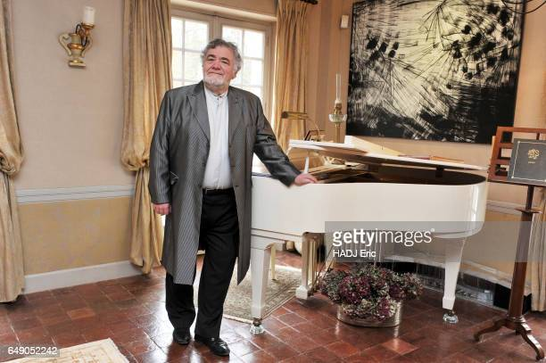 Rendezvous with lyric singer and vocal coach JeanPhilippe Lafont at his home in Houx on January 27 2017