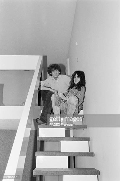 Rendezvous With Maria Schneider Le 25 octobre 1979 l'actrice Maria SCHNEIDER qui joue dans 'La dérobade' du réalisateur Daniel DUVAL avec son frère...