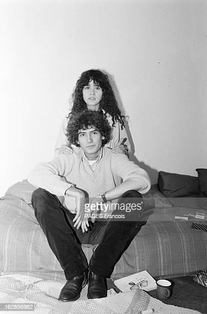 Rendezvous With Maria Schneider Le 25 octobre 1979 l'actrice Maria SCHNEIDER qui joue dans 'La dérobade' du réalisateur Daniel DUVAL dans son studio...