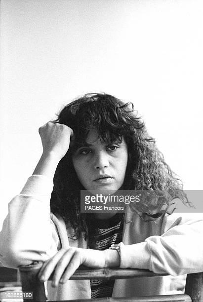 Rendezvous With Maria Schneider Le 25 octobre 1979 portrait de face de l'actrice Maria SCHNEIDER qui joue dans 'La dérobade' du réalisateur Daniel...