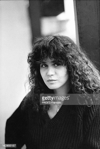 Rendezvous With Maria Schneider Le 25 octobre 1979 portrait de l'actrice Maria SCHNEIDER qui joue dans 'La dérobade' du réalisateur Daniel DUVAL dans...