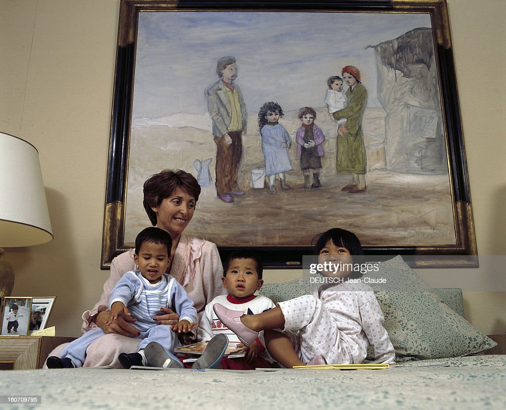 Rendezvous With Marina Picasso And Her Children Pictures | Getty Images