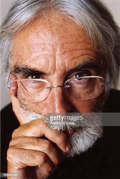 Rendezvous With Michael Haneke Portrait de face de Michael HANEKE réalisateur du film 'Le temps du loup'