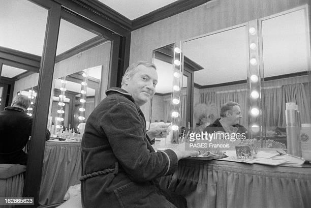 Rendezvous With Michel Serrault Elected Best Actor At The Cesars 1979 France Paris 5 février 1979 l'acteur Michel SERRAULT vient de recevoir le César...