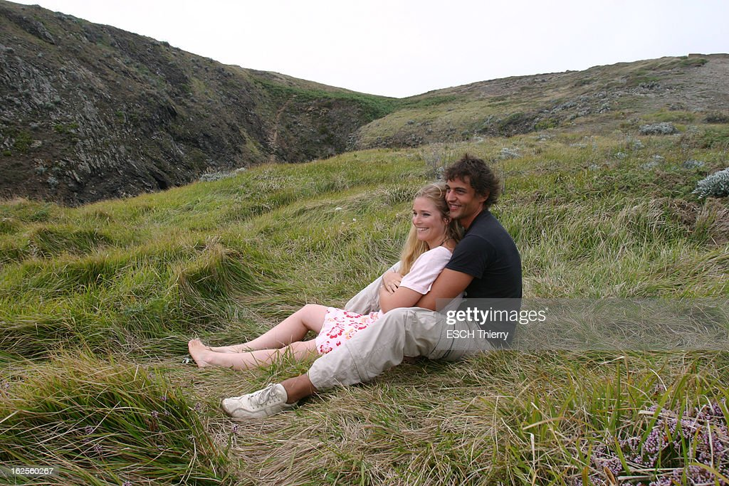 Rendezvous With Natasha Regnier On Holiday In Britain : News Photo