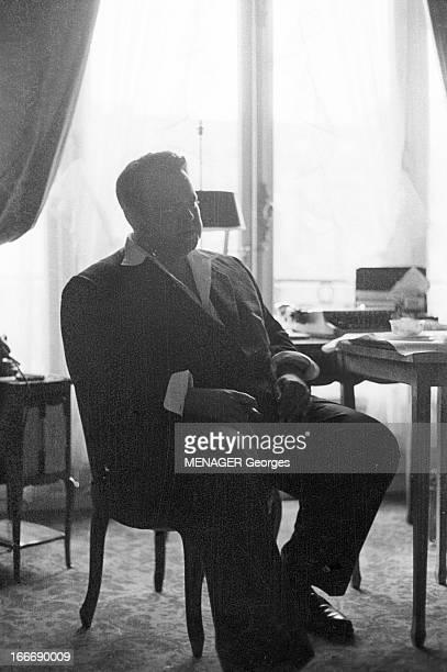 Rendezvous With Orson Welles In Paris In 1958 Juin 1958 Paris portrait d' Orson WELLES lors d'un déjeuner Il est à Paris pour le tournage du film de...