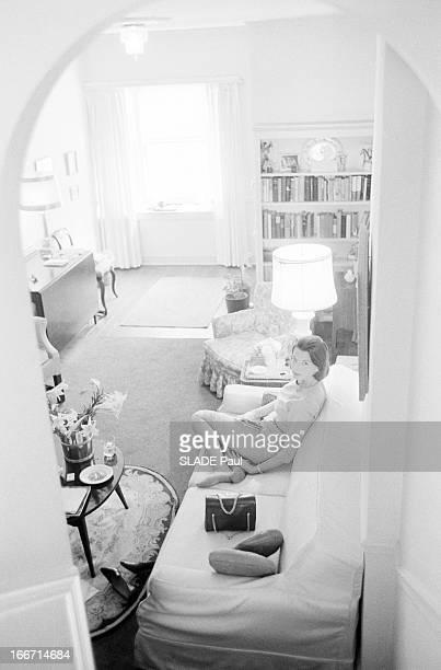 Rendezvous With Pamela Turnure Press Agent Of Jackie Kennedy En avril 1961 aux EtatsUnis à Washington Pamela TURNURE attachée de presse de Jackie...