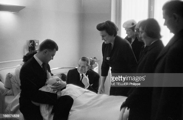 Rendezvous With President Rene Coty Three Time GreatGrandfather Paris 25 Décembre 1956 Le Président René COTY et sa famille de gauche à droite...