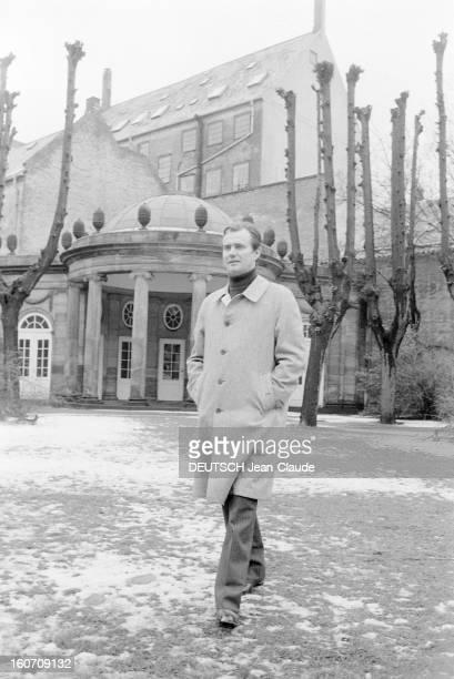 Rendezvous With Prince Henrik Of Denmark And Princess Margrethe Of Denmark With Family Danemark Copenhague 21 Février 1977 Au château de...