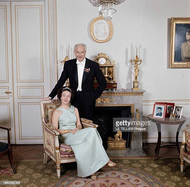Rendezvous With Prince Louis Napoleon En avril 1968 le prince LOUIS NAPOLEON en redingote avec un noeud papillon et des médailles au revers de sa...