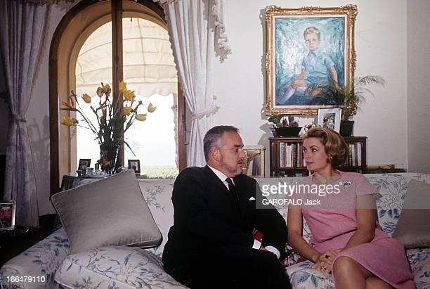 Rendezvous With Prince Rainier Iii Of Monaco With Family A Monaco en 1966 lors d'un reportage sur la famille princière DE MONACO le Prince RAINIER...