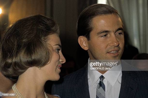 Rendezvous With Princess AnneMarie Of Denmark And Prince Constantine Of Greece Portrait de la Princesse AnneMarie DE DANEMARK et du Prince Constantin...