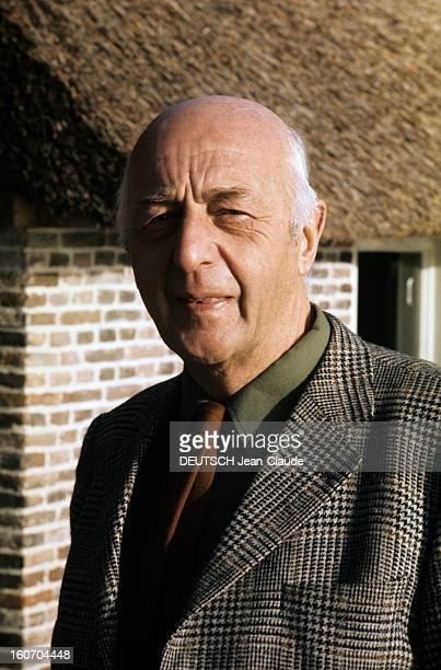 Rendezvous With Sicco Mansholt Dutch Politician PaysBas 1973 Reportage sur Sicco MANSHOLT viceprésident de la Commission Européenne et commissaire...