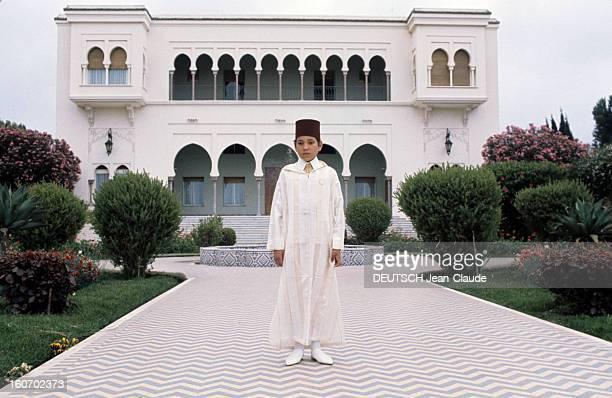 Rendezvous With Sidi Mohammed The Crown Prince Of Morocco Rabat juillet 1976 Portrait du jeune prince héritier Sidi MOHAMMED âgé de 13 ans coiffé du...