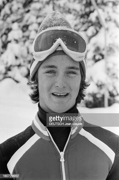 Rendezvous With Team France Before The Alpine Ski World Cup 1978. .